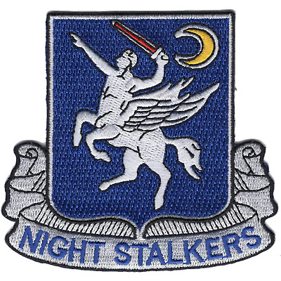 Special Operations Flight Medic SOAR 101st Airborne NIGHT STALKERS PATCH