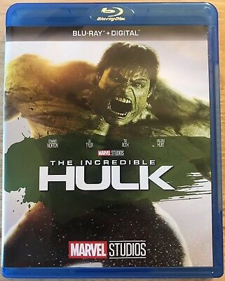 Marvel Studios The Incredible Hulk Blu Ray Free Shipping Edward Norton