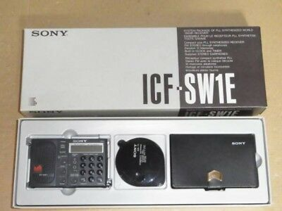 Old Radio SONY ICF-SW1E LED replaced  good working Refurbished Item from Japan