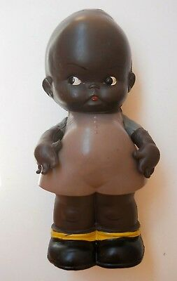 RARE 1930's Celluloid Kewpie PALITOY Doll ~ Black Diddums ~ Mabel Lucie Attwell