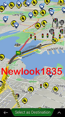 IGO 9 18 NEXTGEN for Android GPS App AU/NZ or UK map 2019