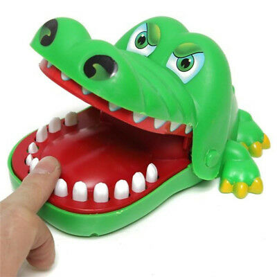 Crocodile Mouth Dentist Bite Finger Game Funny Gags Toy Novetly Toy For Kids