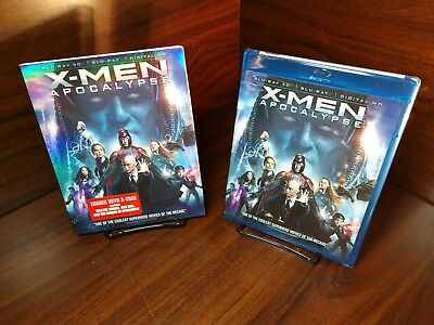 X-Men: Apocalypse (3D+Blu-ray+HD Digital)Slipcover-NEW-Free Shipping w/Tracking