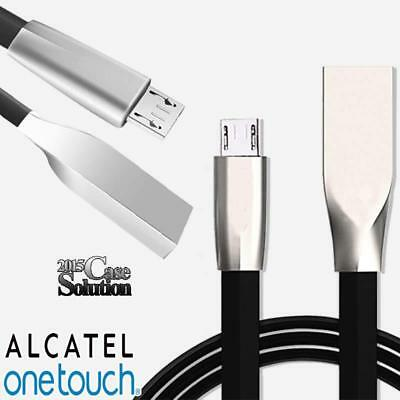 3D Micro USB Data Sync Fast Charging Charger Cable For Various Alcatel Phones