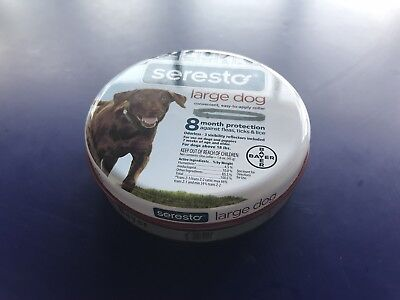 Bayer Seresto 8 Month Flea & Tick Prevention Collar for Large Dogs_8 Month