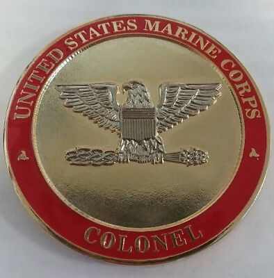 USMC Colonel G-6 US Marine Corps Forces Reserve Challenge Coin