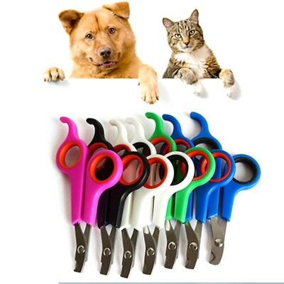 Pet Dog Cat Nail Clippers Scissors Paw Claw Trimmer Toe Care Grooming Tools US