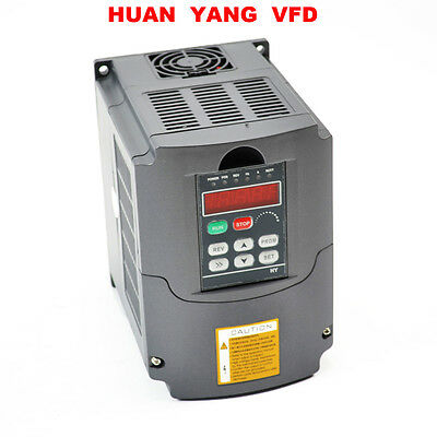 Hy Vfd 5.5Kw 7.6Hp 25A Cnc 220V Variable Frequency Drive Inverter Ce