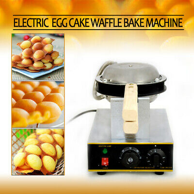 Egg Cake Oven QQ Ice Cream Waffle Maker Stainless Steel Machine