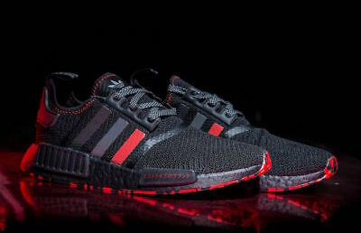 Adidas Nmd R1 Black Red Marble Japan 3m Size 6 5 G26514 Yeezy