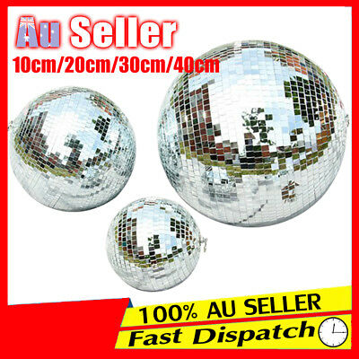 Disco Mirror Reflective Glass Ball Club Stage Lighting Dance Event Party DJ