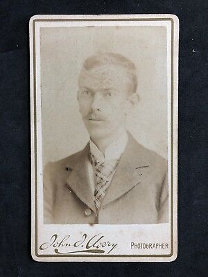 Victorian Carte De Visite CDV Gentleman Avery London
