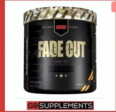 Redcon1 Fade Out 30 Servings, Strong Sleep Aid