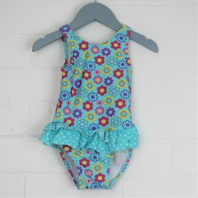 GIRL2GIRL One Piece Floral Swimming Suit Girls Bathers Size 1