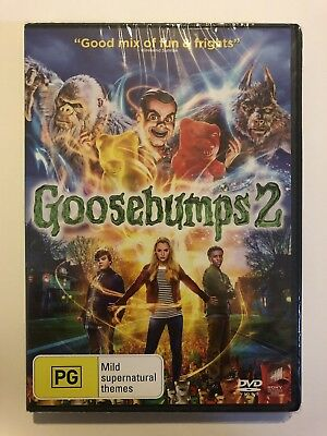 Goosebumps 2 DVD 2019 Brand New & Sealed. Region 4 Rated PG Movie 🍿 Kids