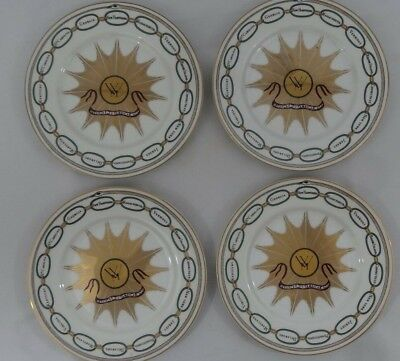 Set of 4 Woodmere White House Collection Dessert Plates - George Washington
