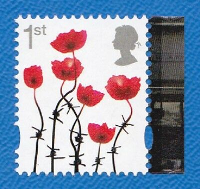 GB 2017 SG3717  1st Poppies. Gummed. In litho by Cartor. From Great War PSB. MNH