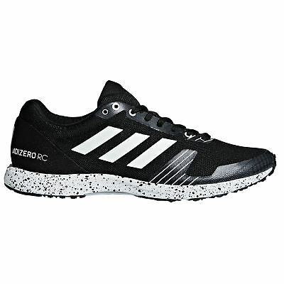 adidas Adizero RC Mens Neutral Running Trainer Shoe Black