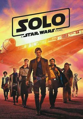 Solo: A Star Wars Story (2018,dvd)