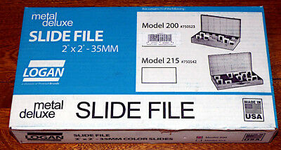 "Logan Electric - Slide File #200 - holds 750 2"" x 2"" slides"