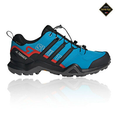 1513117cf adidas Mens Terrex Swift R2 GORE-TEX Walking Shoes Black Blue Sports  Outdoors