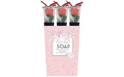 1 x SOAP ROSE IN RED 40CM VALENTINE'S DAY MOTHER'S DAY BIRTHDAY GIFT LADIES MEN