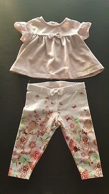 adf4b4172 BAKER BY TED BAKER - BABY GIRL TOP AND LEGGINGS SET 3-6 Months ...