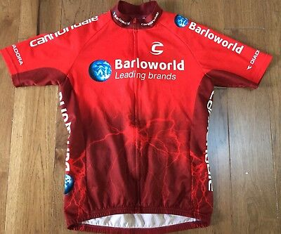 Barloworld Team CANNONDALE Cycling Jersey Men s Large Great condition CX  Road 892954cef
