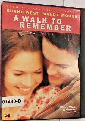 DVD Movie A WALK TO REMEMBER Shane West Mandy Moore in Original Jacket