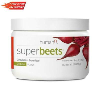 Super Beets By Humann Products Original Flavor Circulation Superfood 5.3 Ounce