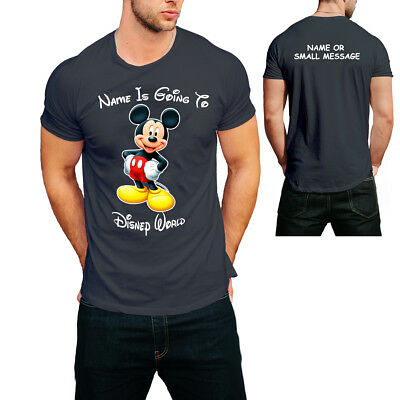 Personalised T-shirt YOUR NAME is going to disney Holiday Vacation