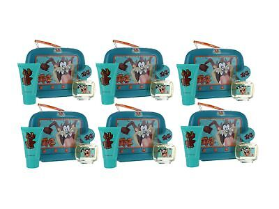 Taz by Looney Tunes for Kids Combo Pack: Gift Set-Lunch Box New in Box 6PK