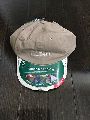 ce8d3b2bee15a LL BEAN PATHFINDER LED Lighted Fleece Beanie ONE SIZE NWT! -  10.99 ...