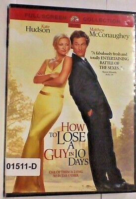 DVD Movie HOW TO LOSE A GUY IN 10 DAYS Kate Hudson in Original Jacketet