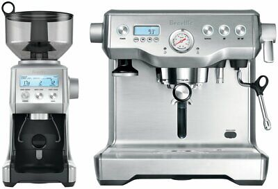 NEW Breville BEP920BSS Dynamic Duo Dual Boiler with Smart Grinder