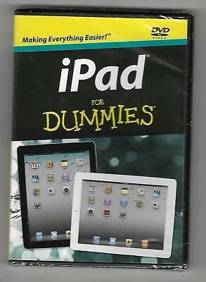 iPad for DUMMIES - Sealed DVD - New - Free Delivery