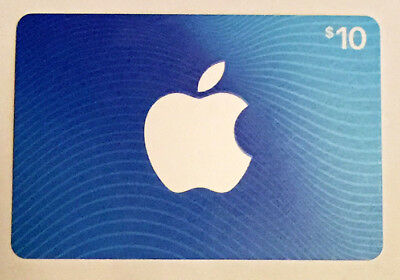 $0 ITUNES Silver Apple on Black 2006 Gift Card Collectable Only