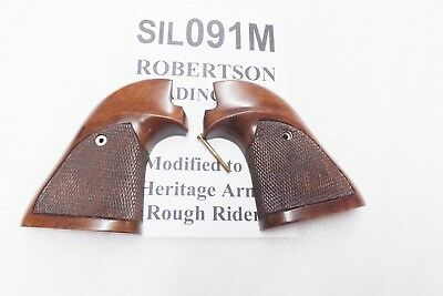 Sile Walnut Grips fit Rough Rider Buffalo Scout E15B Revolvers sil091M .22