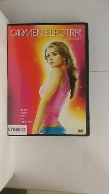DVD Movie CARMEN ELECTRA'S FIT TO STRIP  in Original Jacket