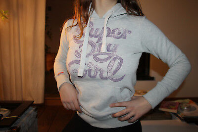 best loved 9ad56 b6728 Sweat-A-Capuche-Gris-Clair-Superdry-Taille-Xs.jpg