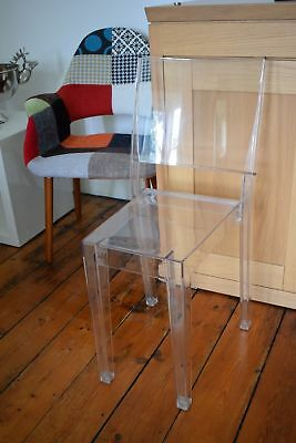 KARTELL LA MARIE Starck Ghost Chair Heals £200 Designed By Philippe Starck