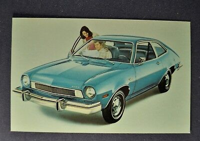 1974 Ford Pinto 2-Door Sedan Postcard Brochure Excellent Original 74