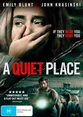 NEW A Quiet Place DVD Free Shipping