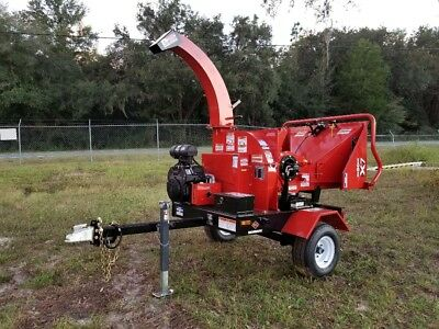 """2018 Morbark / Boxer X7 Brush Chipper, Towable, 7"""" Feed, New, Only 11 Hours!"""