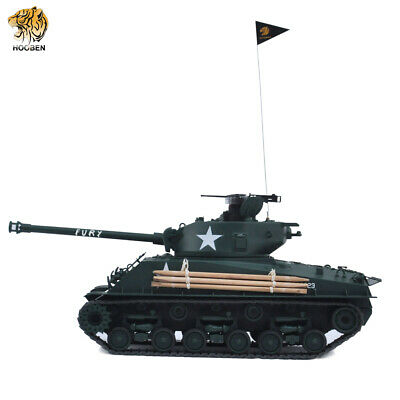 HOOBEN 1:16 US FURY M4A3E8 Sherman RTR 2 4G RC Army Battle TANK Painted  Finished