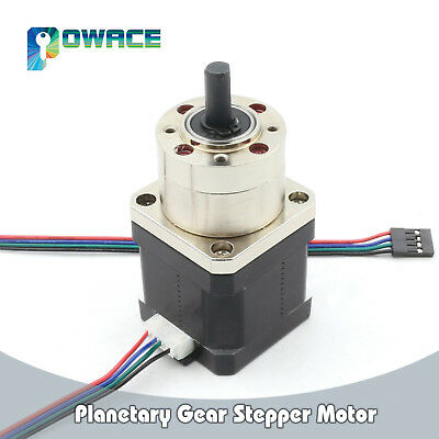 Nema17 42 Planetary Gear Box Stepper Motor 1.6A Reduction Ratio1:5.18 for 3D/CNC