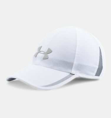 9b5606d51d7 Under Armour Men s Shadow ArmourVent Cap White Steel One Size Adjustable  Back