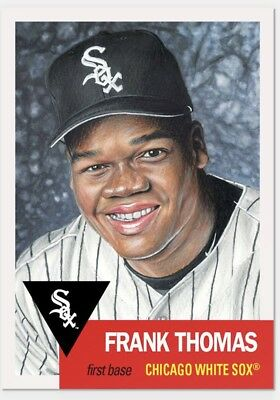 2018 Topps Living Set #133 Frank Thomas Baseball Card Chicago White Sox PR 4,163