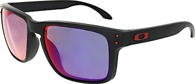 d4a85e5674 NEW Authentic Oakley Sunglasses HOLBROOK OO9102 36 Black Red Iridium Fast  Ship