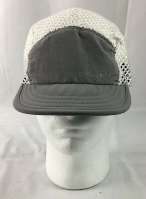 8798ac0a Patagonia Vintage Cycling Mesh Hat Duckbill Cool Gray Running Fishing Hiking